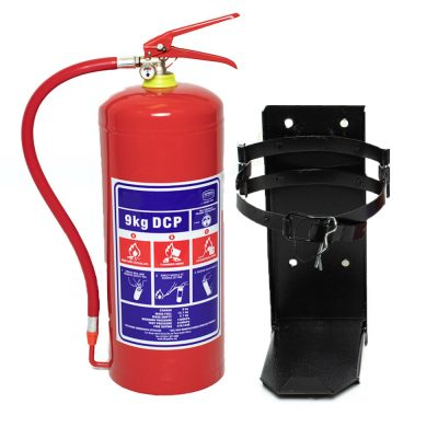 9kg DCP Fire Extinguisher with Heavy Duty Bracket
