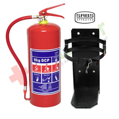 9kg DCP Fire Extinguisher Heavy Duty Bracket