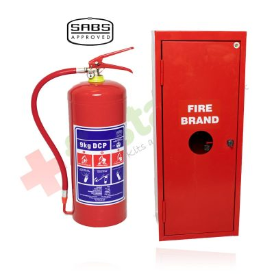 9kg DCP Fire Extinguisher Cabinet Combo