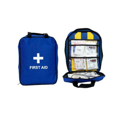 Firstaider Basic First Aid Kit in Blue Grab Bag