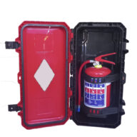 4.5kg Fire Extinguisher Heavy Duty Plastic Cabinet Combo