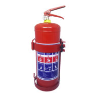 9kg DCP Fire Extinguisher with Heavy Duty Red Bracket